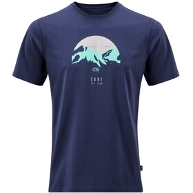 Cube Organic T-Shirt Heritage Men dark blue